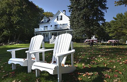 Chairs at Dockside Guest Quarters, York, Maine