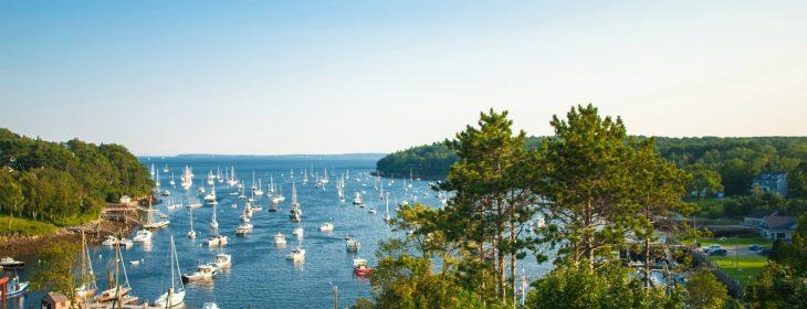Maine beach towns