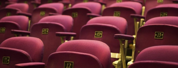 Theater seats at the music hall portsmouth nh