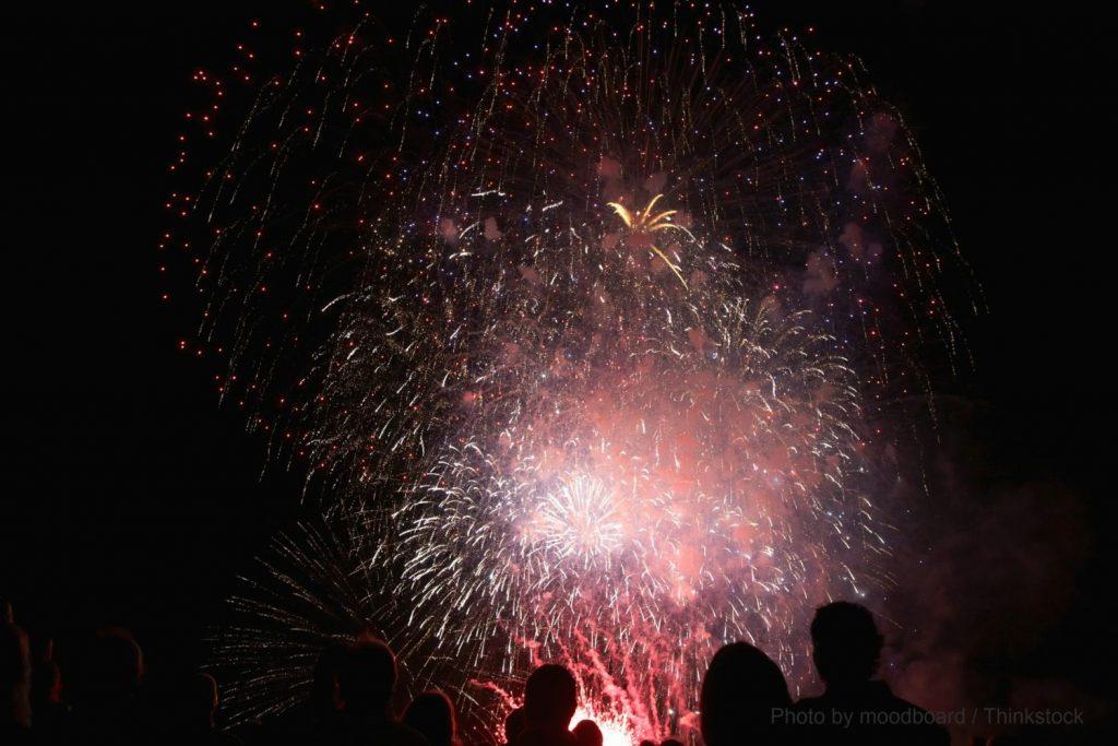 fireworks in York, Maine
