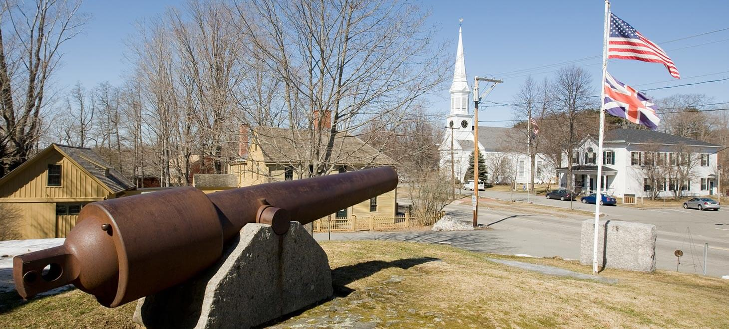Cannon in York, Maine