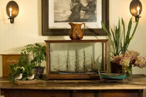 Interior decor at Dockside Guest Quarters