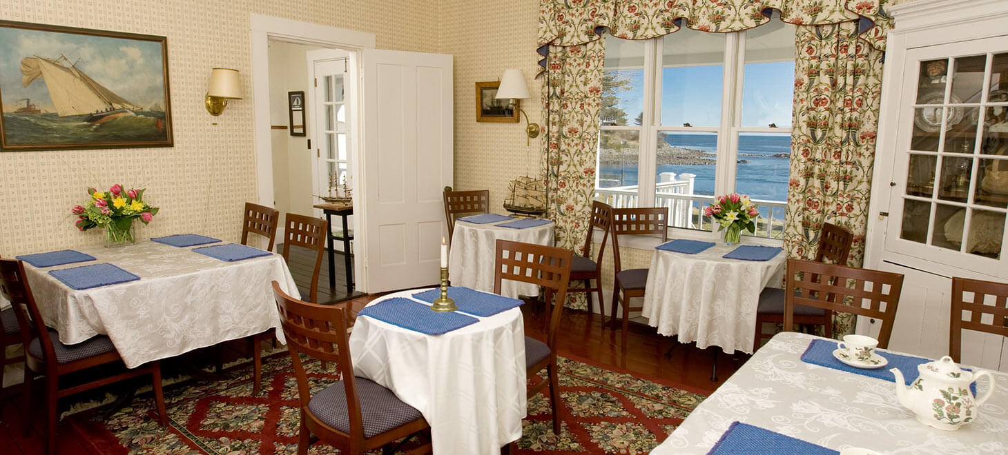 Restaurant in York, Maine - Dining Room