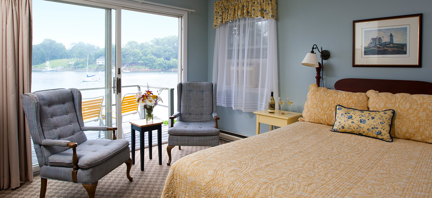 York, ME B&B room