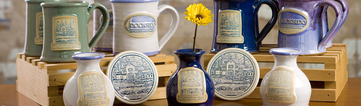 Dockside Guest House mugs