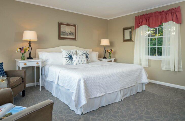 Room 120 bed