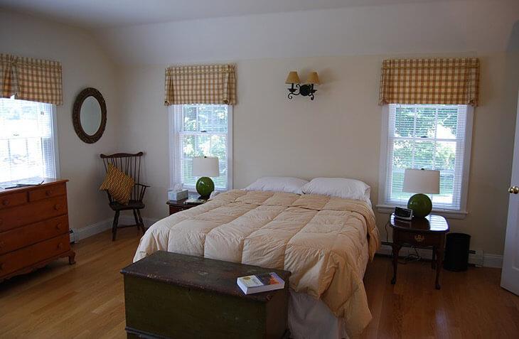 Captain's Quarters master bedroom