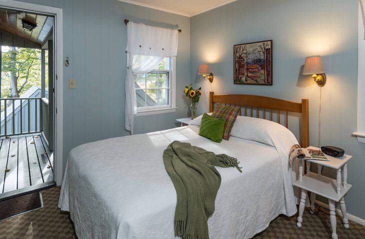 Room 107 bed