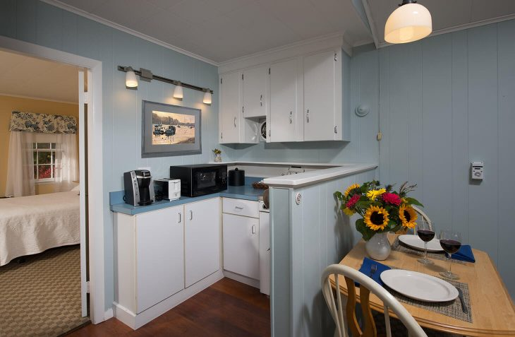 Room 112 kitchenette