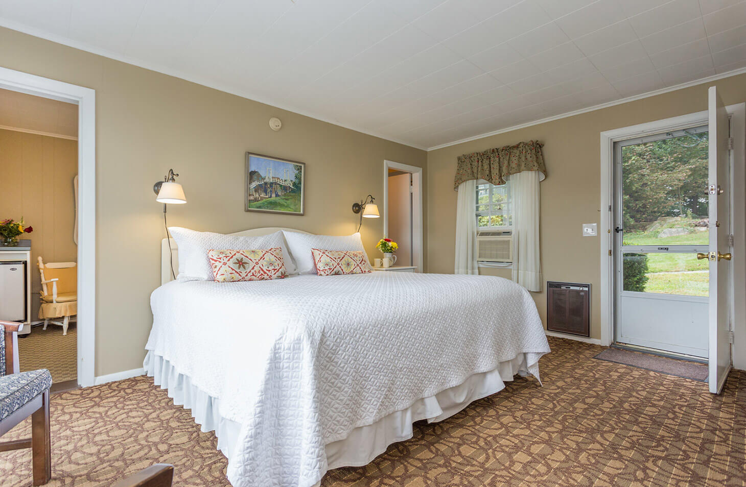 Room 113 bed