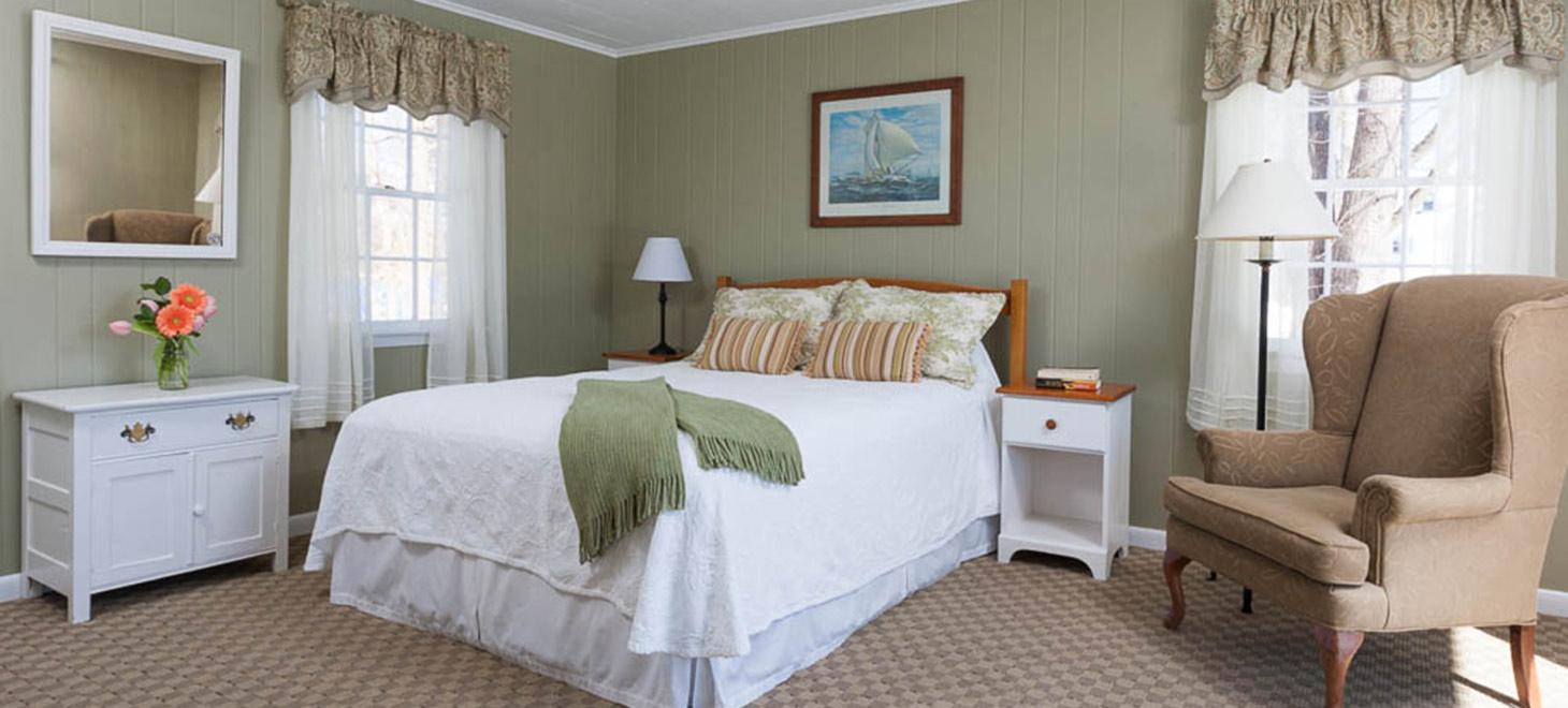 Room 115 bed