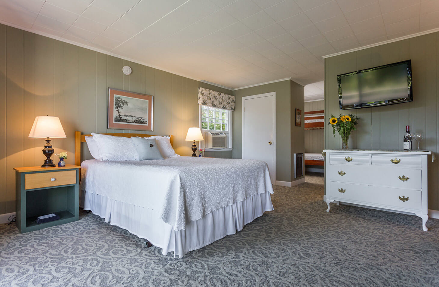 Room 116 bed