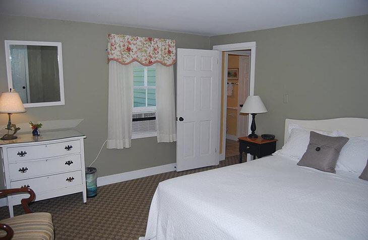 Room 121 bed