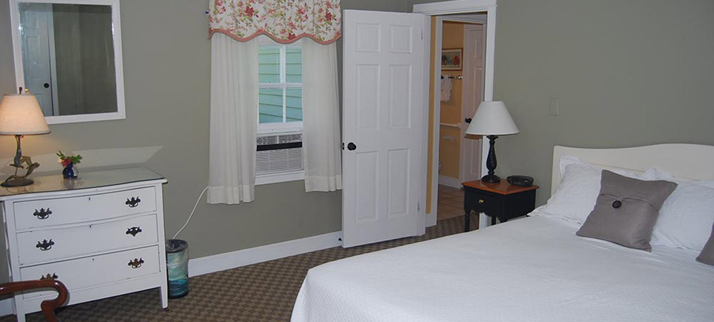 Room 121 bed