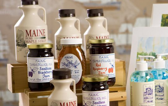 Maine James and Pure Maple Syrup