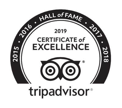 TripAdvisor 2019 Hall of Fame